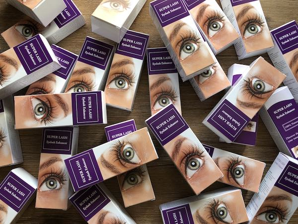 super lash wimperserum aanbieding